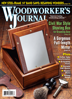 Woodworker's Journal cover